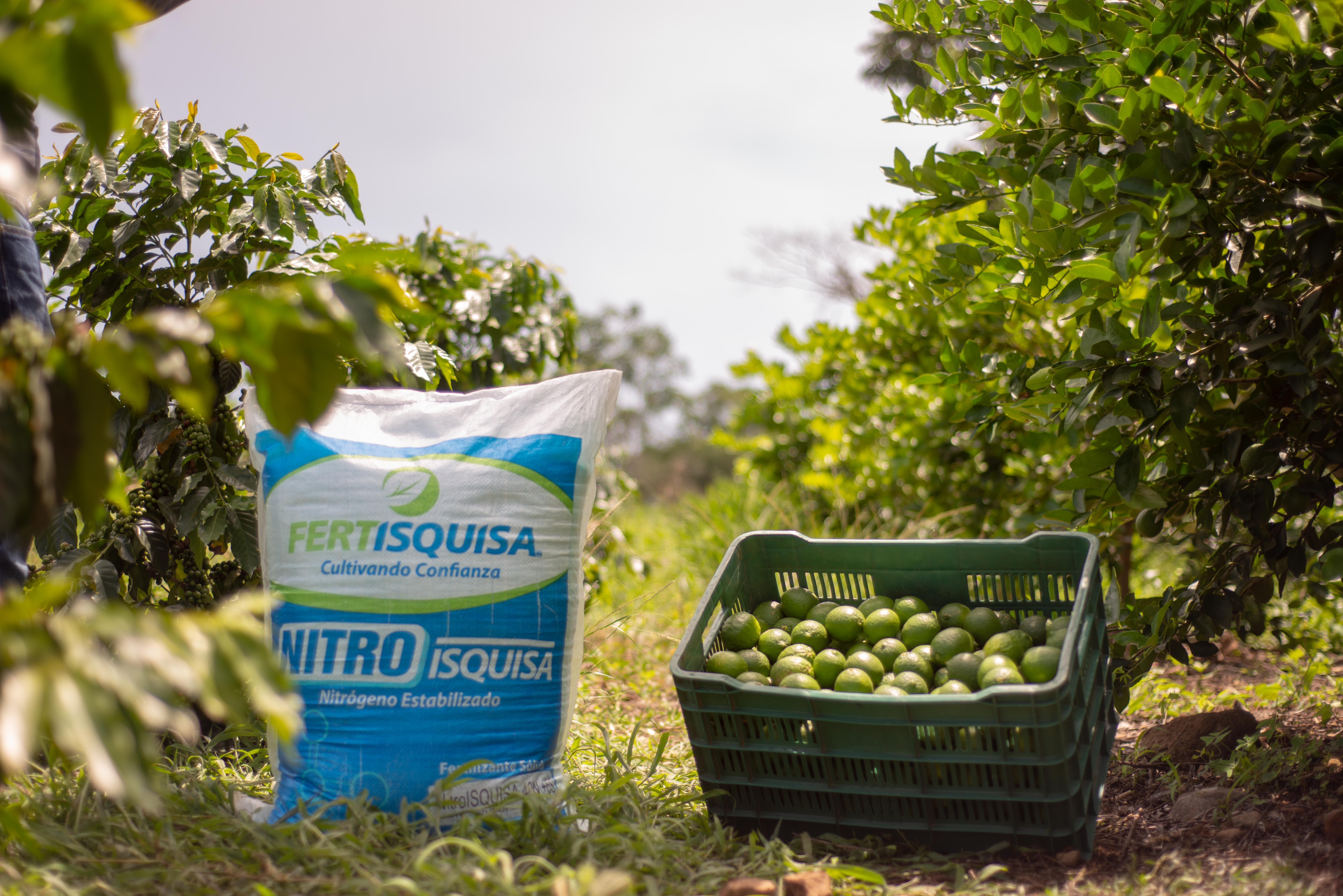 NitroISQUISA: Fertilizante de especialidad.
